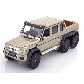 Welly Modellauto Mercedes Benz G63 AMG 6x6 gold 1:24 | Welly
