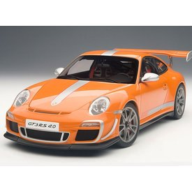 AUTOart Modelauto Porsche 911 (997) GT3 RS 4.0 oranje 1:18 | AUTOart