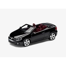 Schuco Modellauto Volkswagen VW Golf Cabriolet 2012 schwarz 1:43 | Schuco