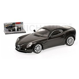 Minichamps Model car Alfa Romeo 8C Competizione 2005 black 1:43 | Minichamps