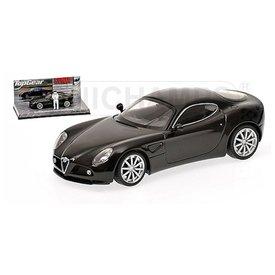 Minichamps Modelauto Alfa Romeo 8C Competizione 2005 zwart 1:43 | Minichamps
