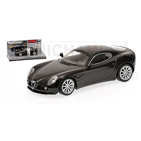 Model car Alfa Romeo 8C Competizione 2005 black 1:43 | Minichamps