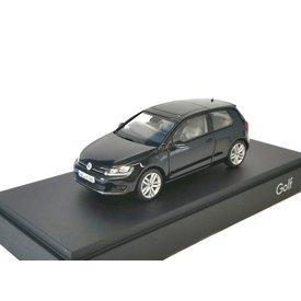 Herpa Modelauto Volkswagen VW Golf 7 zwart 2012 1:43 | Herpa