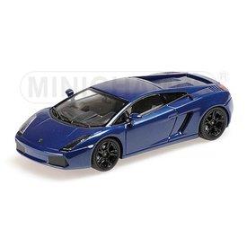 Minichamps Modellauto Lamborghini Gallardo 2006 blau 1:43 | Minichamps
