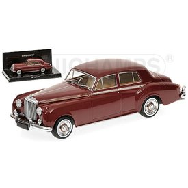 Minichamps Modelauto Bentley S2 1960 donkerrood 1:43 | Minichamps