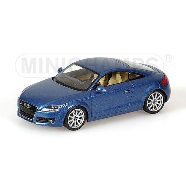 Modelauto Audi TT 2006 blauw 1:43 | Minichamps