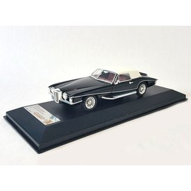 Premium X Model car Stutz Blackhawk 1971 black/white 1:43 | Premium X