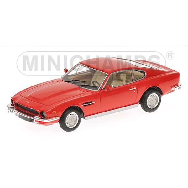 Modelauto Aston Martin V8 Coupe 1987 rood 1:43