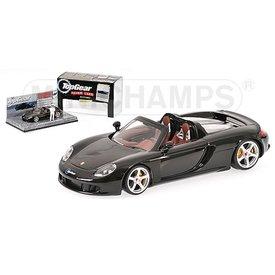 Minichamps Modelauto Porsche Carrera GT zwart 1:43 (Top Gear) | Minichamps