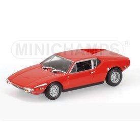 Minichamps Modelauto DeTomaso Pantera 1974 rood 1:43 | Minichamps