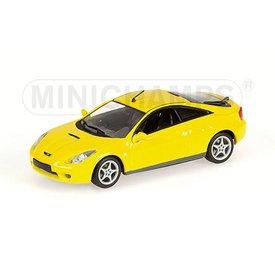 Minichamps Modelauto Toyota Celica 2000 geel 1:43 | Minichamps