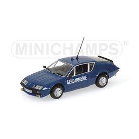 Minichamps Model car Renault Alpine A310 Gendarmerie 1976 1:43   Minichamps