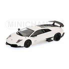 Minichamps Modellauto Lamborghini Murcielago LP 670-4 SV 2009 weiß 1:43 | Minichamps