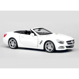 Welly Modellauto Mercedes Benz SL500 weiß 1:24 | Welly