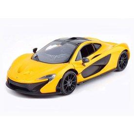 Motormax Modelauto McLaren P1 geel/zwart 1:24 | Motormax