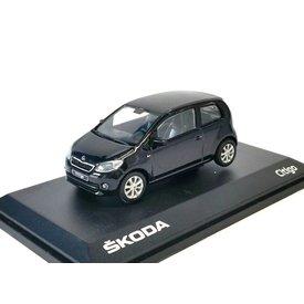 Abrex Modellauto Skoda Citigo 3-Türer schwarz 1:43 | Abrex