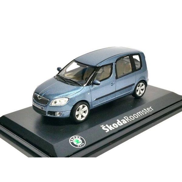 Modelauto Skoda Roomster lichtblauw metallic 1:43   Abrex
