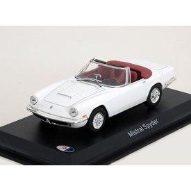 WhiteBox Modellauto Maserati Mistral Spyder weiß 1:43 | WhiteBox
