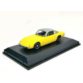 Oxford Diecast Model car Lotus Elan +2 yellow/silver 1:43 | Oxford Diecast