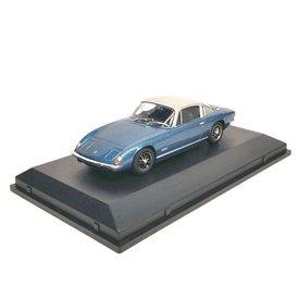 Oxford Diecast Model car Lotus Elan +2 blue/silver 1:43 | Oxford Diecast