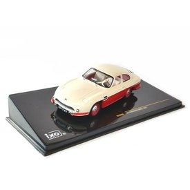 Ixo Models Modelauto Panhard HBR5 1957 beige/rood 1:43 | Ixo Models