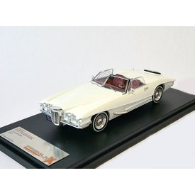 Premium X Model car Stutz Blackhawk Convertible 1971 white 1:43 | Premium X