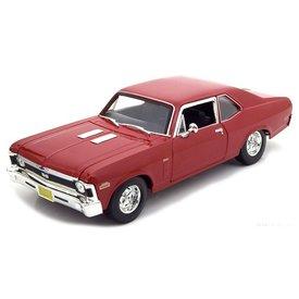 Maisto Model car Chevrolet Nova SS 1970 red 1:18 | Maisto