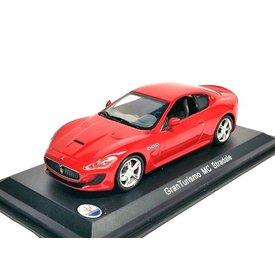 WhiteBox Model car Maserati GranTurismo MC Stradale red 1:43 | WhiteBox