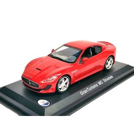 WhiteBox Modelauto Maserati GranTurismo MC Stradale rood 1:43 | WhiteBox