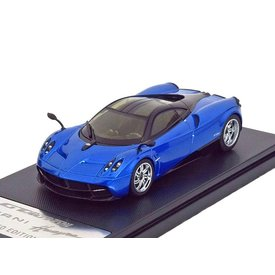 Welly Modellauto Pagani Huayra 2013 blau/schwarz 1:43 | Welly GTA