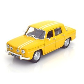 Welly Model car Renault 8 Gordini 1964 yellow 1:24 | Welly