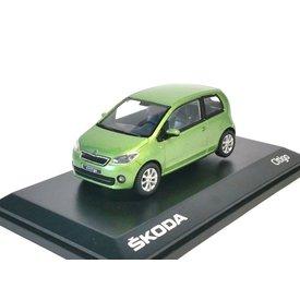 Abrex Modellauto Skoda Citigo 3-door grün metallic 1:43 | Abrex