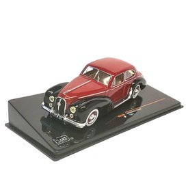 Ixo Models Modelauto Hotchkiss Anjou 1951 rood/zwart 1:43 | Ixo Models