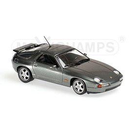 Maxichamps Modelauto Porsche 928 GTS 1991 grijs metallic 1:43 | Maxichamps