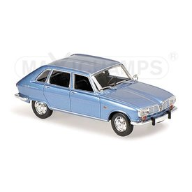 Maxichamps Modelauto Renault 16 1965 lichtblauw metallic 1:43 | Maxichamps