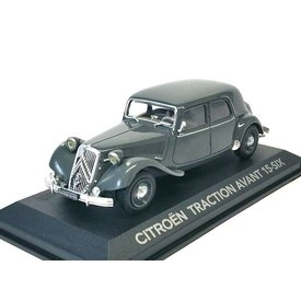 Atlas Modellauto Citroën Traction Avant 15 Six grau 1:43 | Atlas