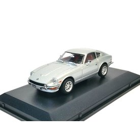 Oxford Diecast Model car Datsun 240Z silver 1:43 | Oxford Diecast