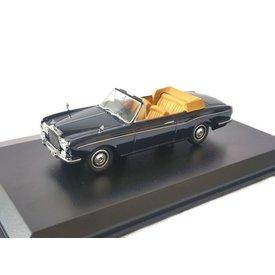Oxford Diecast Modellauto Rolls Royce Corniche Indigo blau 1:43 | Oxford Diecast