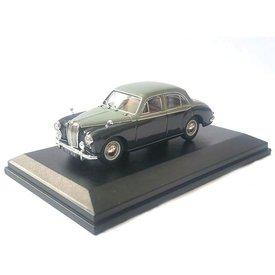 Oxford Diecast Modellauto MG Magnette ZB grau/dunkelgrau 1:43 | Oxford Diecast