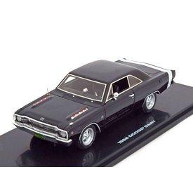 Highway 61 Modellauto Dodge Dart 1968 schwarz/weiß 1:43 | Highway 61
