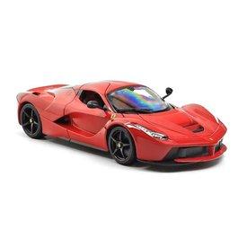Bburago Modelauto Ferrari LaFerrari rood 1:18 | Bburago