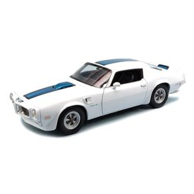 Welly Model car Pontiac Firebird Trans Am 1972 white 1:24 | Welly