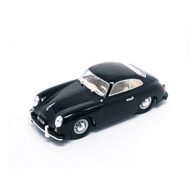 Yat Ming / Lucky Diecast Model car Porsche 356 1952 black 1:43 | Yat ming / Lucky Diecast