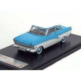 Premium X Modellauto Ford Taunus 17M 1957 blau/weiß 1:43 | Premium X