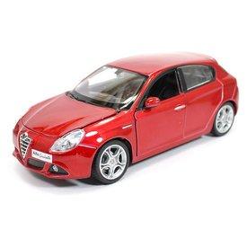 Bburago Modelauto Alfa Romeo Giulietta rood metallic 1:24 | Bburago