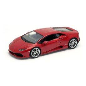 Welly Modelauto Lamborghini Huracan LP 610-4 rood 1:24 | Welly