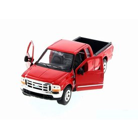 Welly Model car Ford F-350 Pickup red 1:24 | Welly
