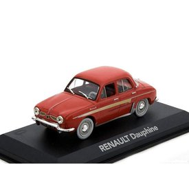 Atlas Modelauto Renault Dauphine rood 1:43 | Atlas