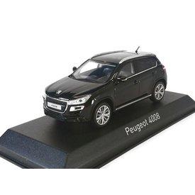 Norev Modelauto Peugeot 4008 2012 zwart 1:43 | Norev