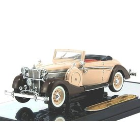 Signature Models Modelauto Maybach SW 38 Cabriolet 1937 creme/bruin 1:43 | Signature Models